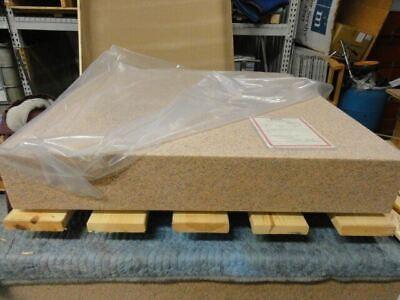 Starrett 48 X 48 X 8 Cyrstal Pink Grade A Granite Surface Plate New In Crate