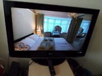 "Excellent 32"" LG hd ready LCD TV freeview"