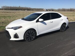 2017 Toyota Corolla SE lease extended warranty, $350.00 inc tax