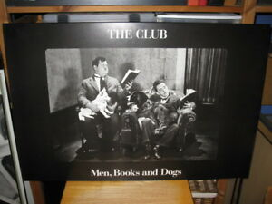 "Laminé de ""The Club - Men, Books and Dog"""