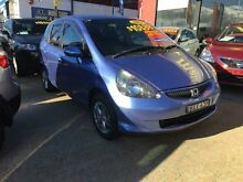 2007 Honda Jazz GD VTi Blue Constant Variable Hatchback Fyshwick South Canberra Preview