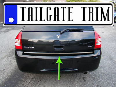 Magnum Trunk - Dodge MAGNUM 2005 2006 2007 2008 Chrome Tailgate Trunk Trim Molding