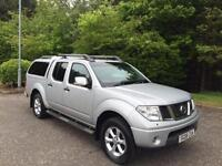 2008 08 NISSAN NAVARA 2.5 AVENTURA DCI NO VAT ON TOP 4DR PICK UP 169 BHP DIESEL