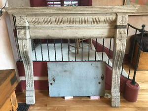 Antique Mantel