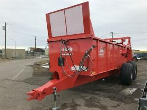 KUHN KNIGHT PS160 TRAILER MOUNT MANURE SPREADER