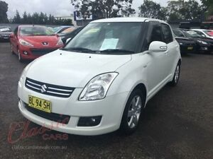 2009 Suzuki Swift EZ 07 Update S Pearl White 5 Speed Manual Hatchback Lansvale Liverpool Area Preview