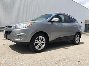2011 Hyundai Tucson GLS AWD With Leather Interior