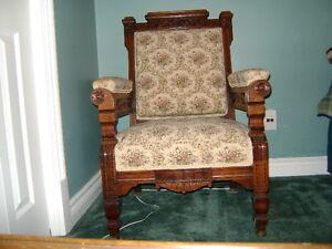 Vintage Eastlake Chair Peterborough Peterborough Area image 1