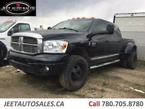 2008 Dodge Ram 3500 Laramie 4x4 Mega Cab Loaded Lifted Dually Di