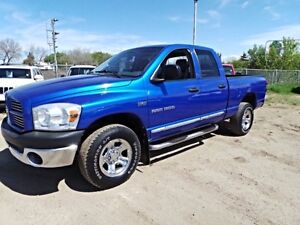 2007 Dodge RAM 1500 4WD QUADCAB SLT For Sale Edmonton