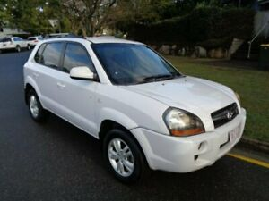 2009 Hyundai Tucson 08 Upgrade City SX White 5 Speed Manual Wagon Chermside Brisbane North East Preview