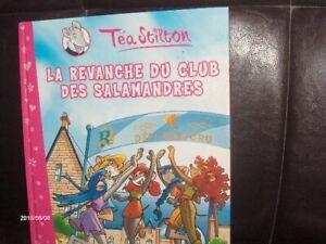 BANDES DESSINÉES - TÉA STILTON