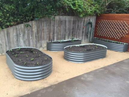 Corrugated Iron Raised Garden Beds Delivery to Melbourne