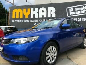 2011 Kia Cerato TD MY11 SI Blue 6 Speed Automatic Hatchback