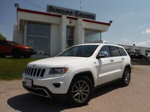 2014 Jeep Grand Cherokee Limited 4X4 DEMO!