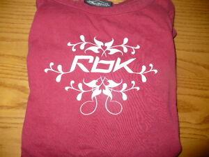 Girls Reebok Medium T-Shirt