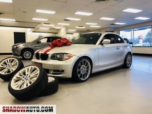 2010 BMW 1 Series 128i- SUNROOF-LEATHER- 8 TIRES &RIMS-