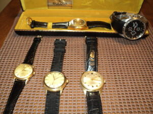 i have 4 watches 3 automatic and one accutron
