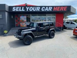 2008 Jeep Wrangler JK Unlimited Sport Softtop 4dr Auto 4sp 4x4 3.8i [MY08] Black Automatic Softtop Como South Perth Area Preview