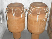 Talking Drums Atumpan Male & Female