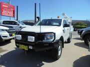 2013 Ford Ranger PX XL White 6 Speed Manual Cab Chassis Granville Parramatta Area Preview