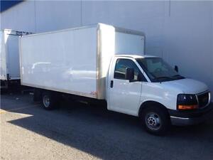 2016 GMC SAVANA 3500 Cutaway 16 feet GAS cube van truck