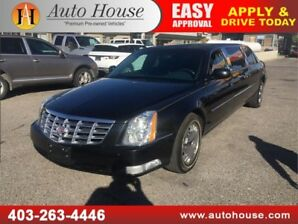 2011 Cadillac DTS Professional Limousine SEATS 8 RARE VEHICLE!