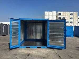 BRAND NEW 10' SHIPPING CONTAINER $3100 INC GST & METRO DELIVERY* Tottenham Maribyrnong Area Preview