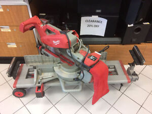 Milwakee Heavy Duty Saw with Stand !!