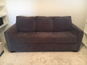 Charcoal Sofa Bed For Quick Sale!