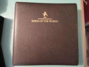 BIRDS OF THE WORLD STAMP COLLECTION - MINT CONDITION
