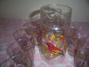 vintage jug and glasses set. Kingston Kingston Area image 4