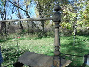 Old handrail and newell post Kingston Kingston Area image 5
