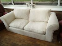 2 Seater White Sofa Bed for Sale