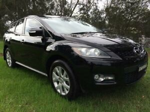 2007 Mazda CX-7 ER Luxury (4x4) Black 6 Speed Auto Activematic Wagon Tuggerah Wyong Area Preview