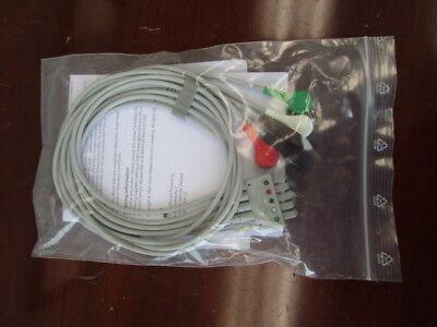 Ge Multi-link Ecg 5-leadwire Set Pn 412681-005 - Brand New Never Used