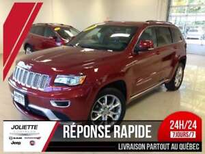 2015 Jeep Grand Cherokee Summit 4X4, NAV,TOIT OUVRANT,CAM,HITCH,