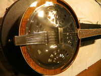 Rayco ResNick Resophonic Banjo 5 String Mint With Case Trade ?