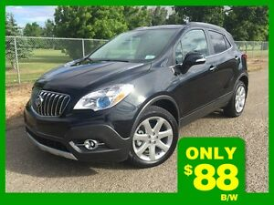 2015 Buick Encore Premium-TECH   **LEATHER-NAV-SUNROOF**