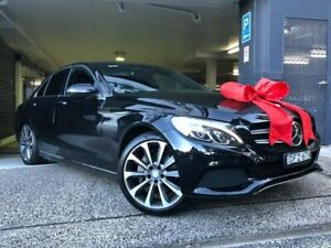2016 Mercedes-Benz C-Class W205 806+056MY C250 7G-Tronic + Black 7 Speed Sports Automatic Sedan Chatswood Willoughby Area Preview