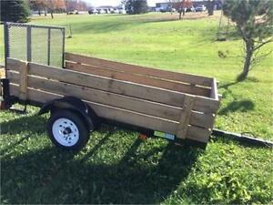 Brand New Force 4x8 Utility Landscape trailer