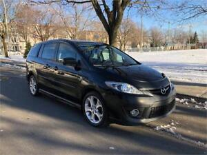 2009 MAZDA 5 , MANUEL , 6 PASSAGERS  ,  4 CYLINDRE 2.3 LITRES