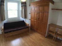 Brand new compact studio with seperate kitchen and bills included