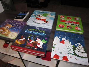 French Books (7 in total) + 1 adult French paperback, Brand New