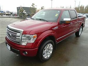 ** 2013 ** FORD ** F-150 ** PLATINUM ** SUPERCREW ** 4X4 **