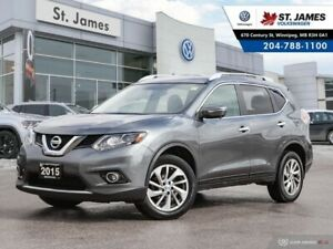2015 Nissan Rogue SL AWD, CLEAN CARFAX, LEATHER, 360 DEGREE CAME