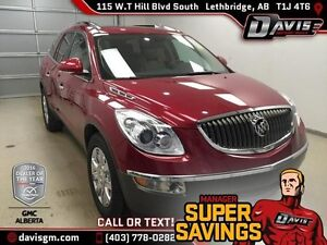 Used 2012 Buick Enclave AWD 4dr CXL1-SUNROOF, REAR PARK ASSIST