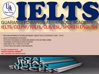 IELTS/CELPIP/CELBAN(10,9,8,7)/SPOKEN ENG-EXCELLENT BANDS(4 TO 9)