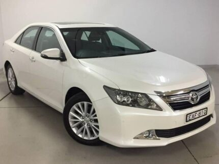 2016 Toyota Aurion GSV50R Presara White 6 Speed Sports Automatic Sedan Chatswood Willoughby Area Preview