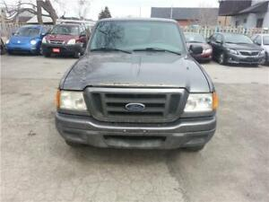 2004 FORD RANGER! TOUGH TRUCK! 2 X 4! MANUAL 5 SPEED!